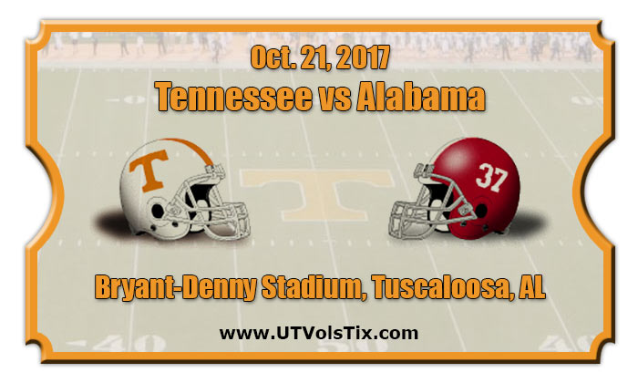 2017 Tennessee Vs Alabama