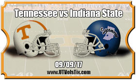 2017 Tennessee Vs Indiana State