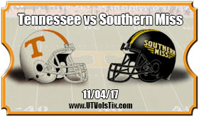 2017 Tennessee Vs Southern Miss